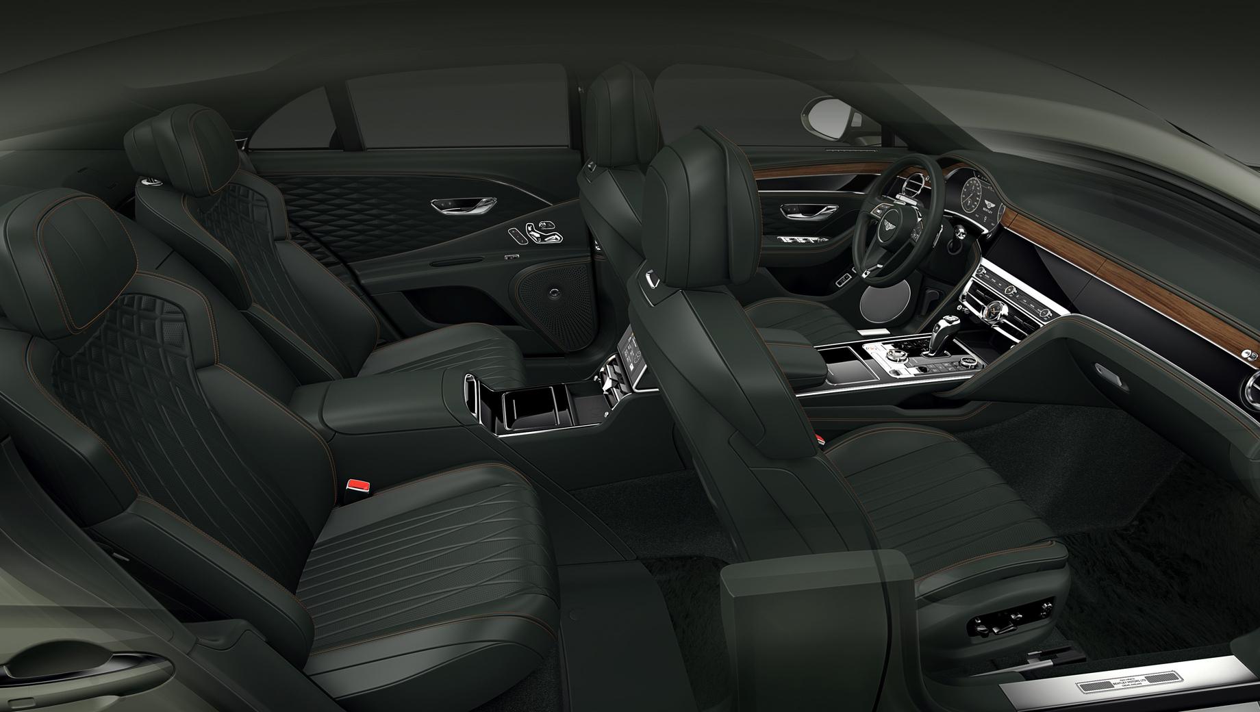Bentley flying spur. Четыре места — это не просто другие задние сиденья, но полностью перекроенный центральный туннель.