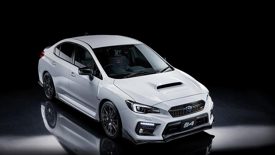 Седаны Subaru WRX S4 STI Sport # раскуплены за две недели