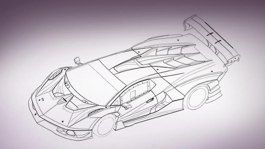 Lamborghini v12 squadra corse,Lamborghini scv12. Созданный в отделении Lamborghini Squadra Corse автомобиль, кажется, состоит сплошь из вентиляционных отверстий, прорезей, воздухозаборников, горизонтальных, вертикальных, прямых, изогнутых и наклонных щитков, антикрыльев, крылышек и закрылков.