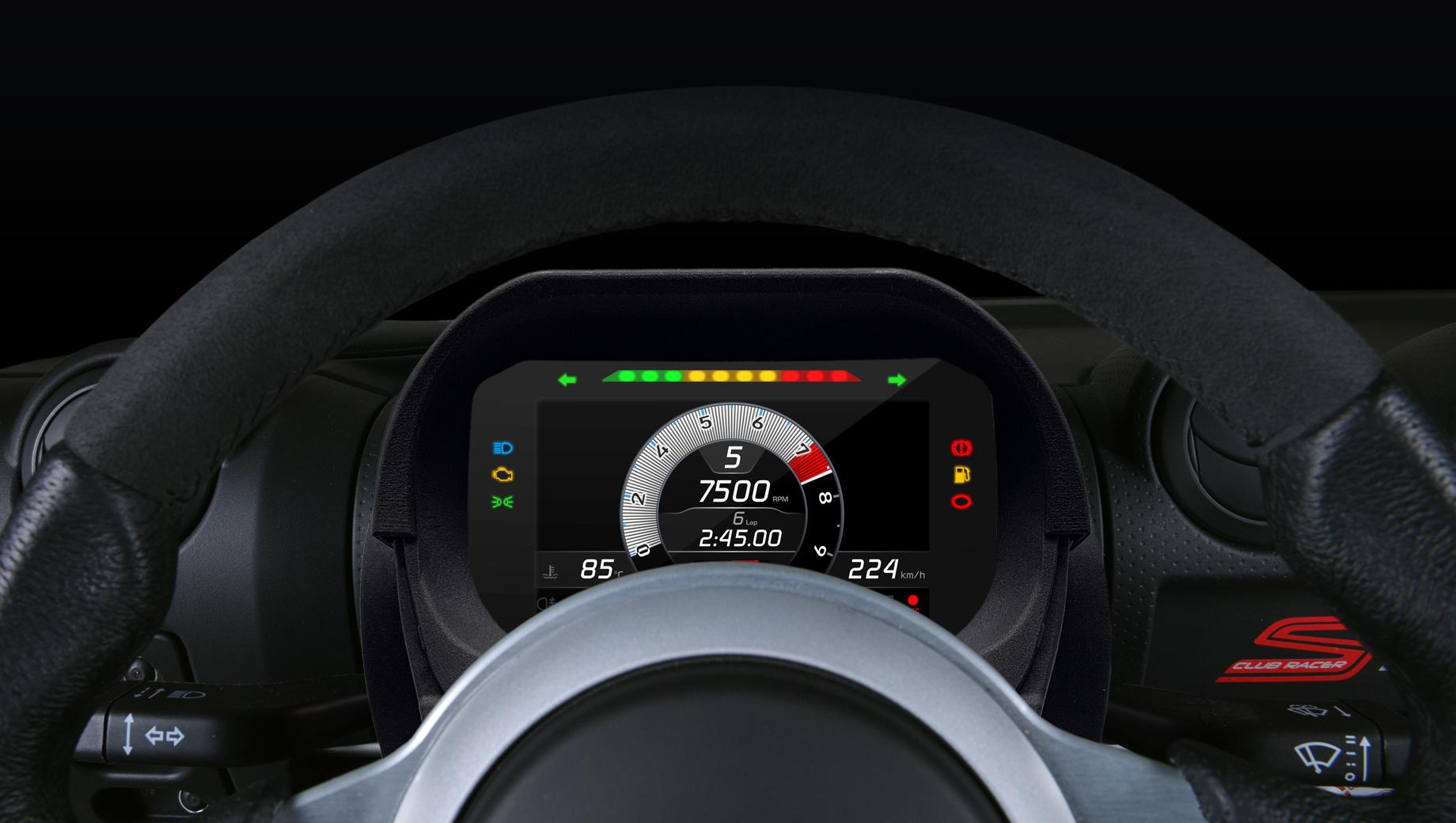 Lotus elise,Lotus exige. Технически — это цветной высококонтрастный TFT-дисплей с диагональю в шесть дюймов. Основные изюминки — электронная начинка и софт.