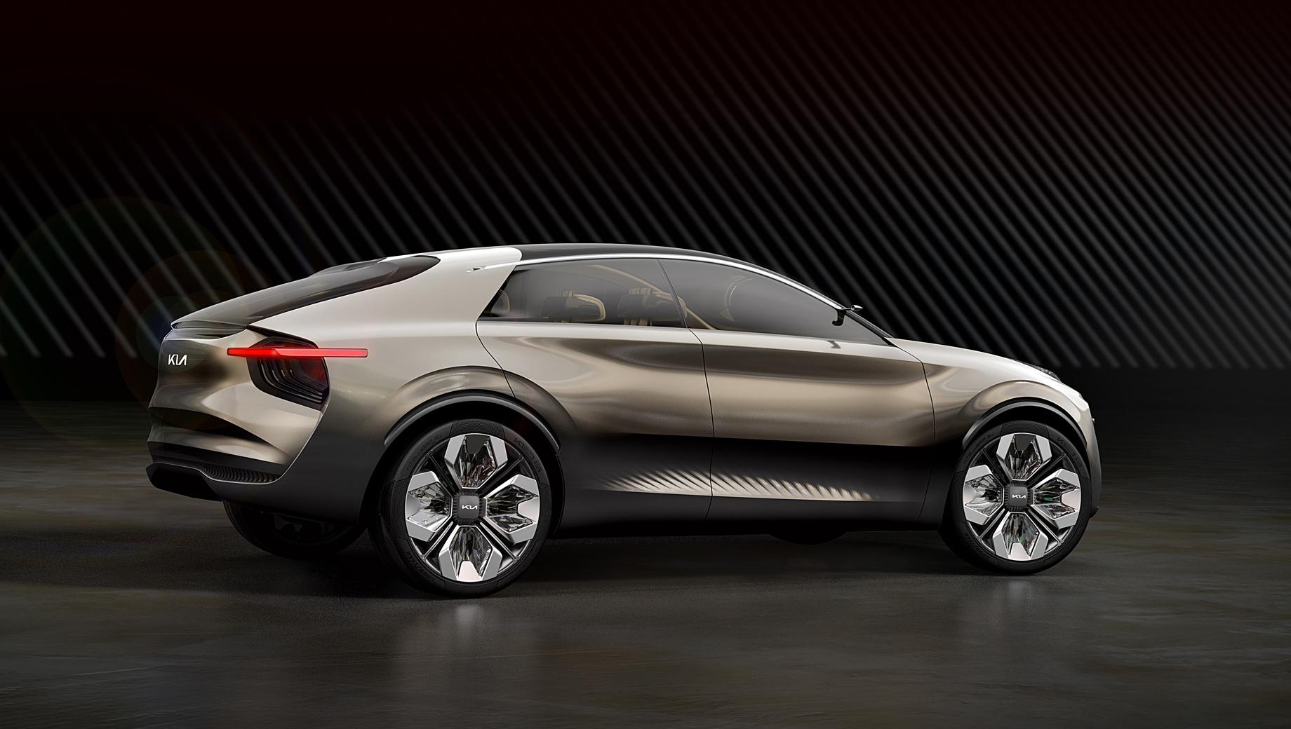 Kia cv. Концепт Imagine by Kia, по официальным разъяснениям, не предвещал конкретную модель, но очерчивал стиль всех будущих электрических легковушек бренда.