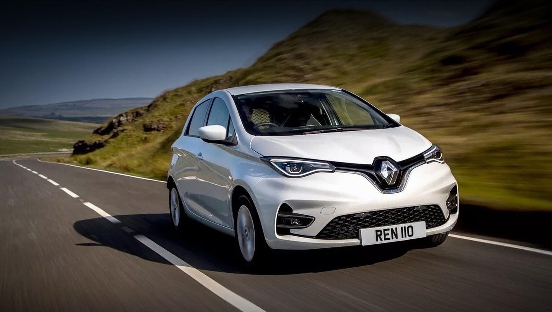 Батарейный хэтч Renault Zoe превращён в развозной фургон