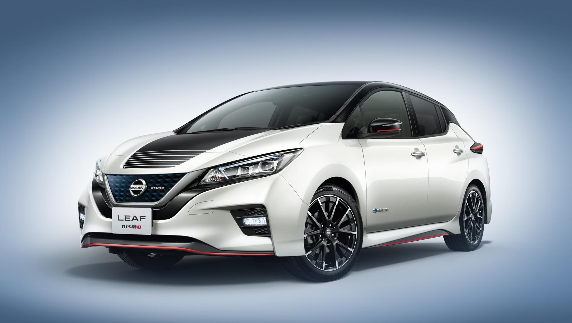Электрокар Nissan Leaf Nismo стал живее в управлении