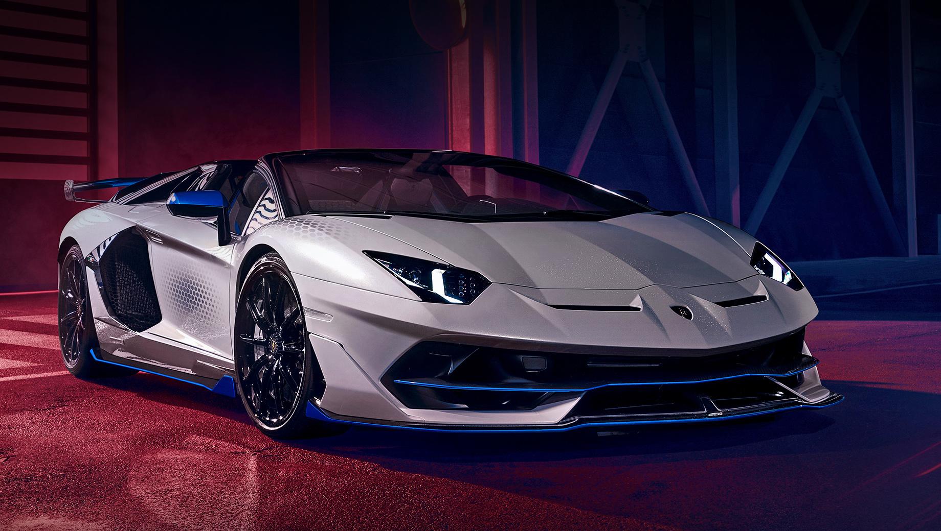 Lamborghini Aventador SVJ Xago покажет новый агрегатор
