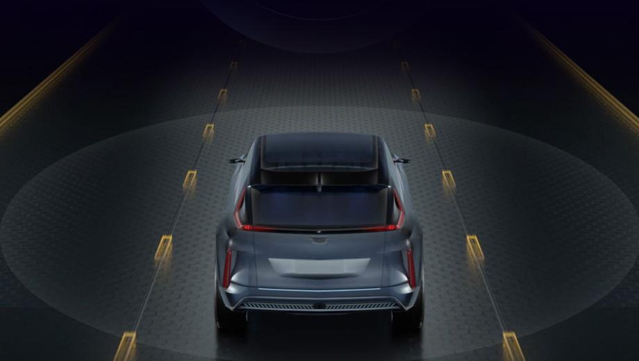 Рассекречен пользовательский интерфейс модели Cadillac Lyriq