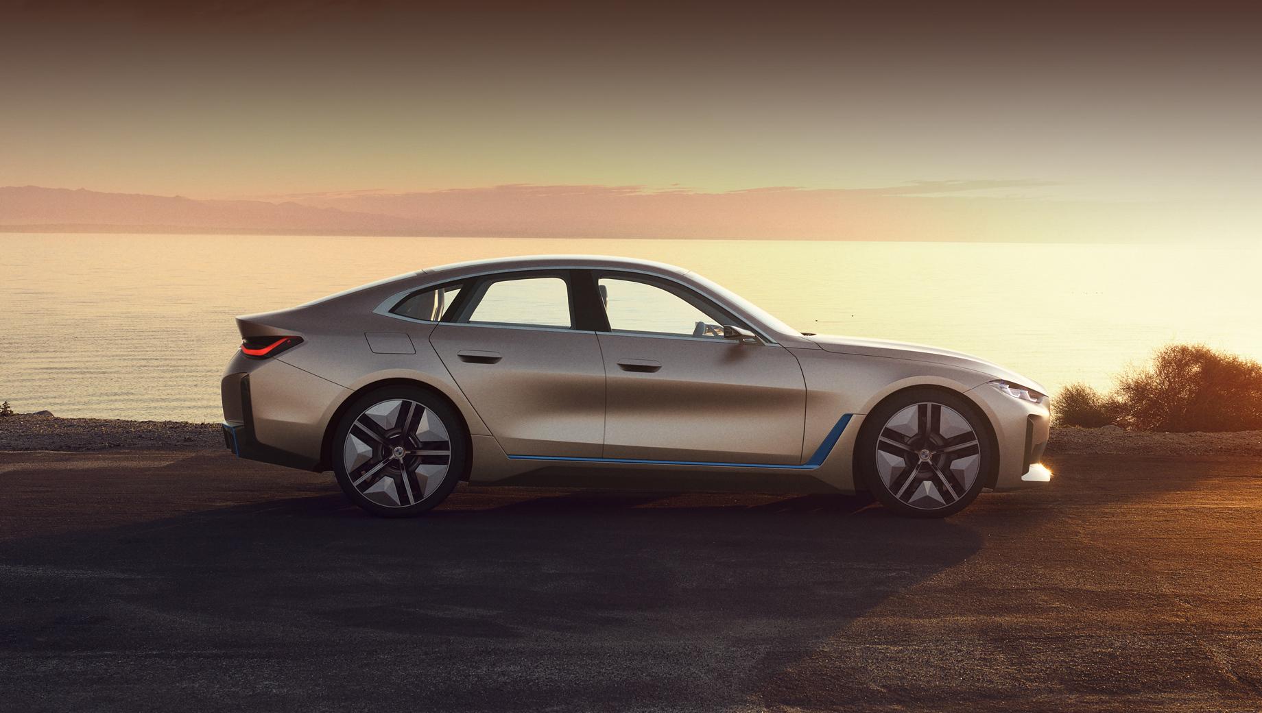Bmw i4. Серийный i4 внешне пойдёт по стопам шоу-кара Concept i4, показанного в марте 2020-го. Дата премьеры конвейерной легковушки не названа, но немцы говорили, что на рынок i4 выйдет в 2021 году.