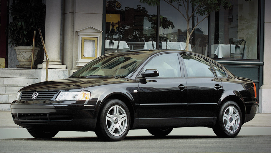 Древний Volkswagen Passat приглашён на замену эйрбэга
