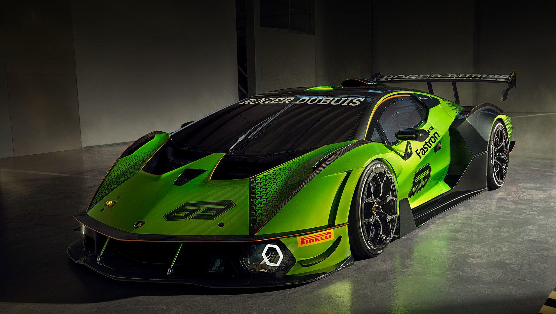 Гиперкар Lamborghini Essenza SCV12 родился для трека