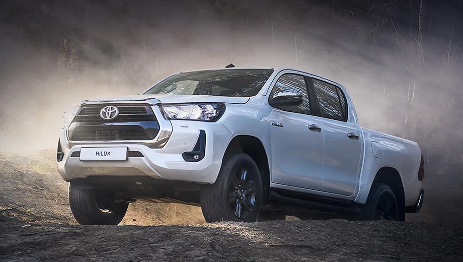 Toyota открыла приём заказов на рестайлинговый пикап Hilux