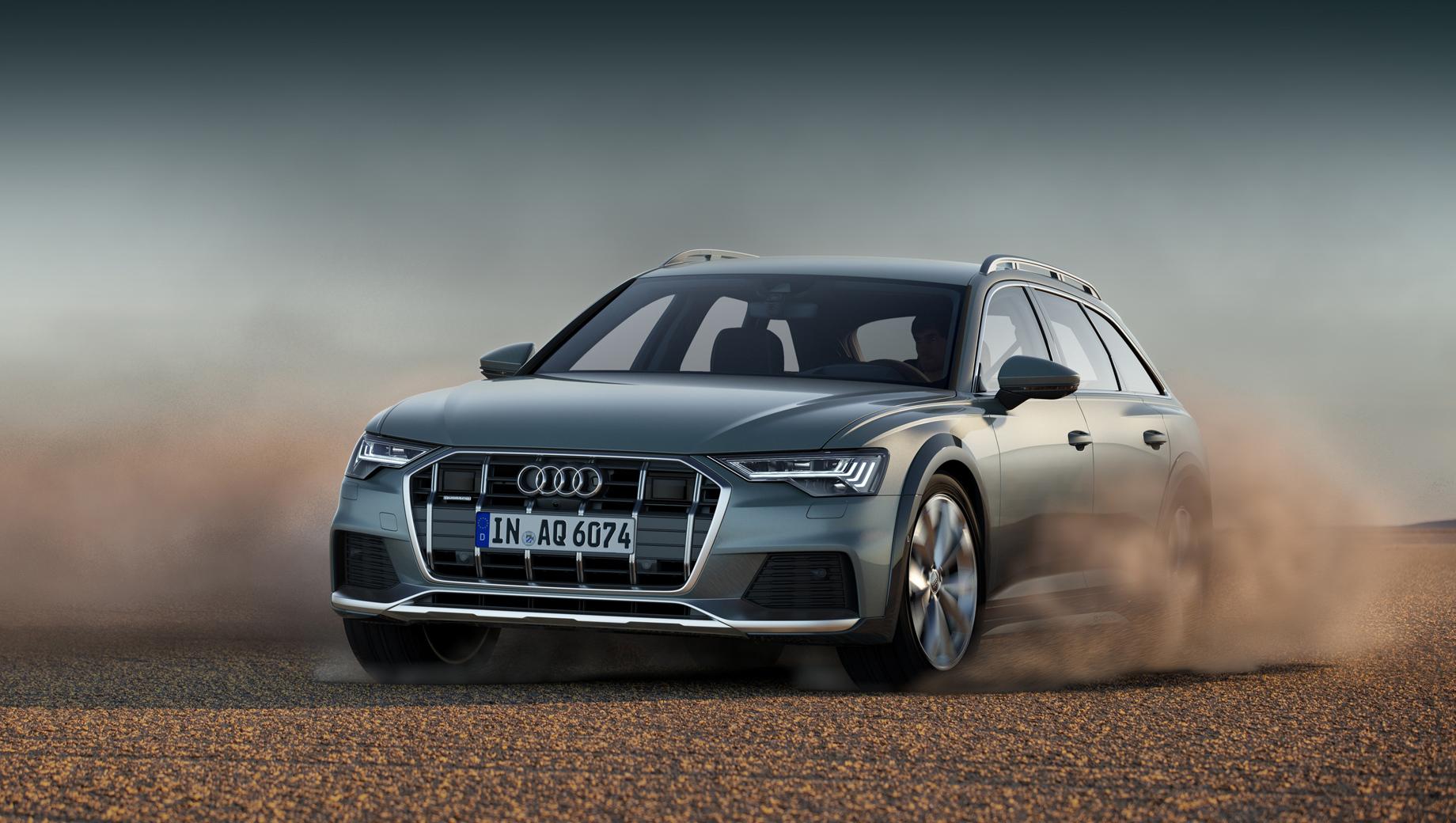 Audi a6 allroad. Дизельному Олроуду полагаются «автомат» и постоянный полный привод quattro, а бензиновому — «робот» и привод quattro с технологией ultra. Бензиновый мотор снабжён умеренной гибридной системой MHEV с 48-вольтовыми стартером-генератором и тяговой батареей.