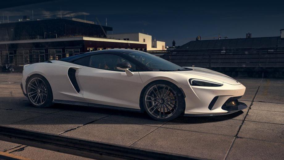 Комфортный McLaren GT заметно форсирован в бюро Novitec