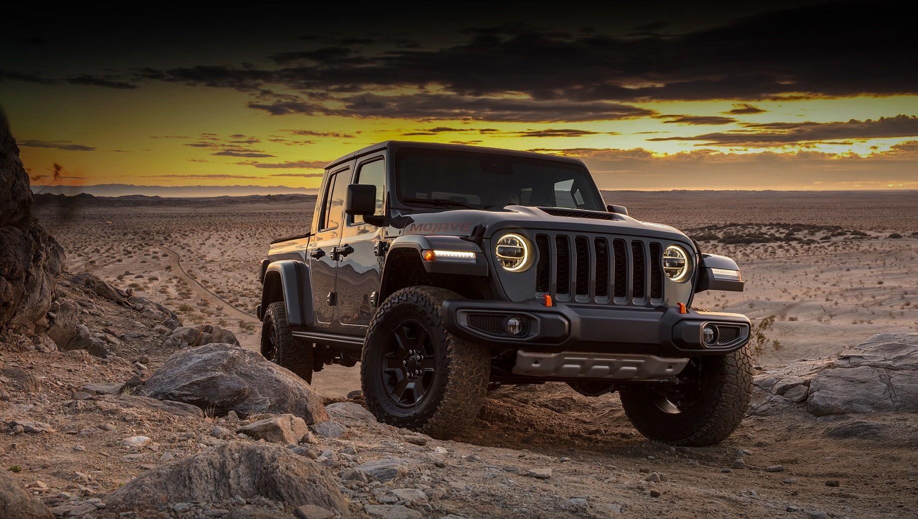 Пикап Jeep Gladiator обзаведётся двумя новыми версиями