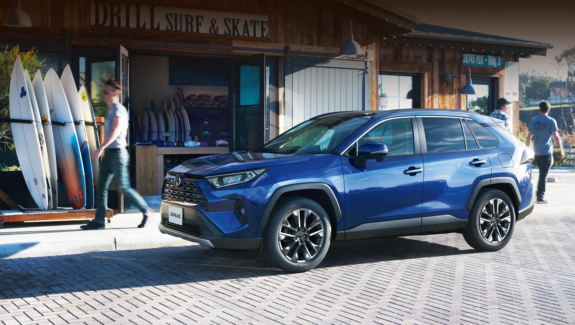 Toyota RAV4 немного улучшен для японского рынка