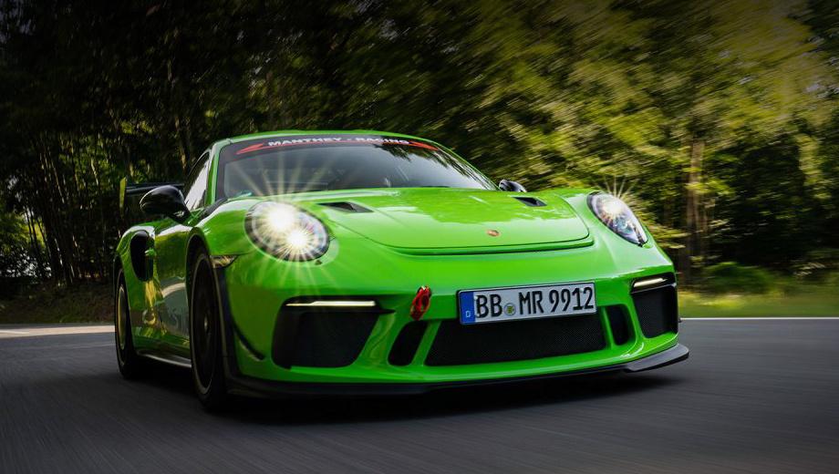 Porsche GT3 RS MR остался без внимания мотористов