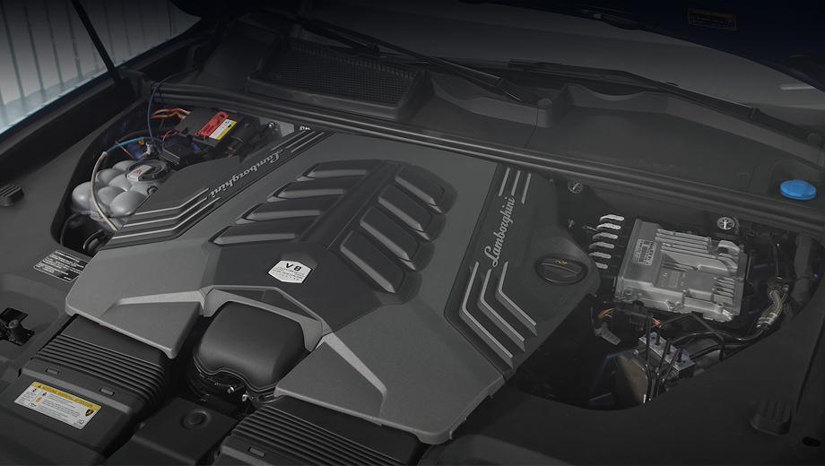 Lamborghini Urus набрал мощность в бюро Hennessey
