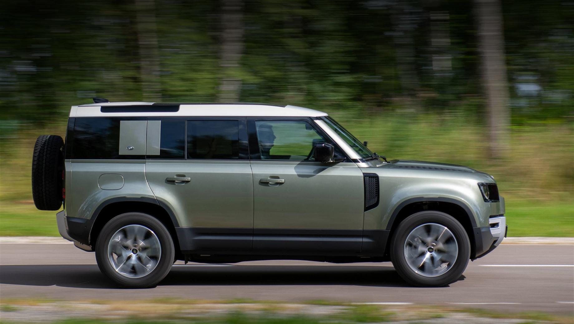 Тест-драйв или покатушки без сравнения, на Land Rover Defender 110 Видео