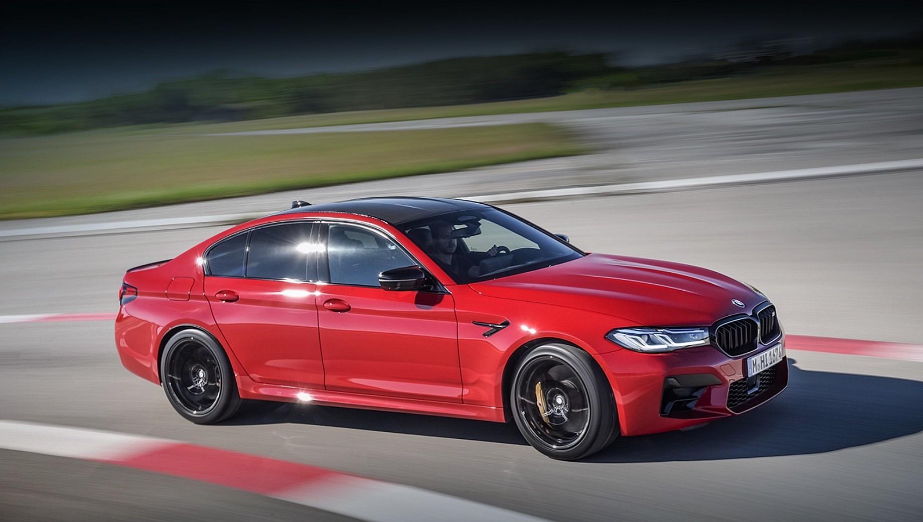 Следующий седан BMW M5 предложит две силовые установки