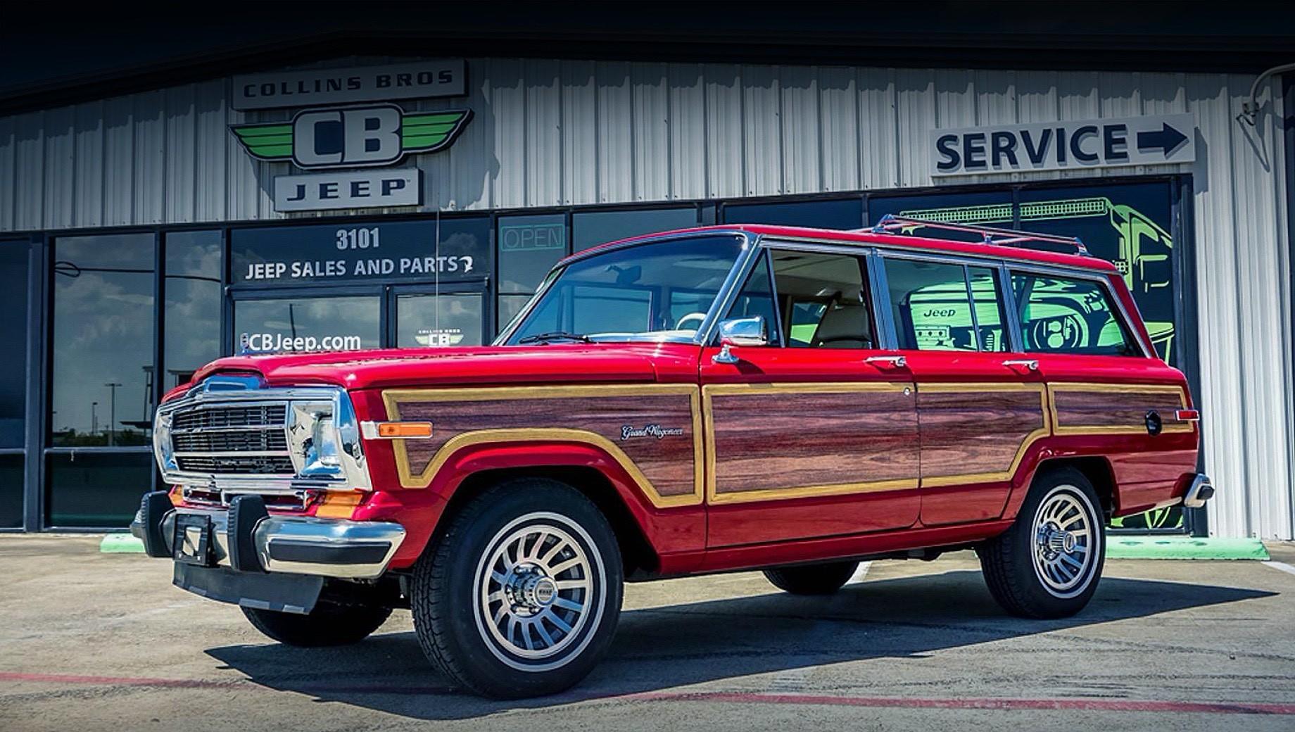Дилер из Техаса превратил Jeep Grand Wagoneer в Hellwagon