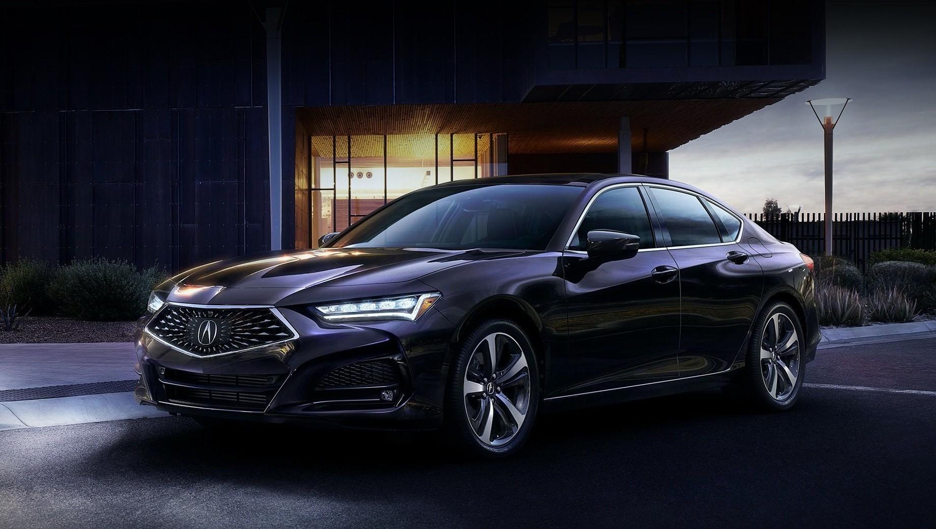 Acura tlx. Нет информации о снаряжённой массе, но известно, что кузов на 56% состоит из высокопрочных сортов стали и алюминия: из него сделаны усилитель переднего бампера, капот, крылья спереди и крепления фронтальных амортизаторов. В передней и задней части кузова добавлены распорки.
