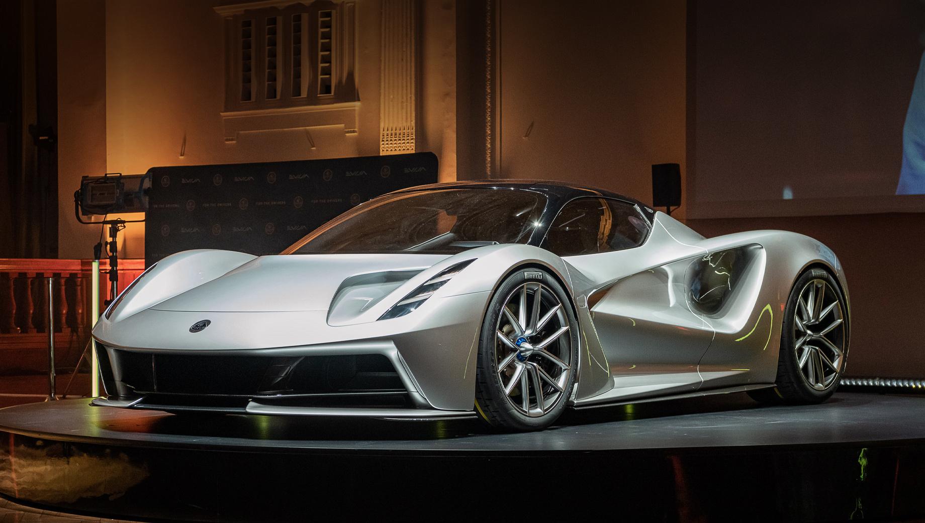 Запуск гиперкара Lotus Evija перенесён на 2021 год