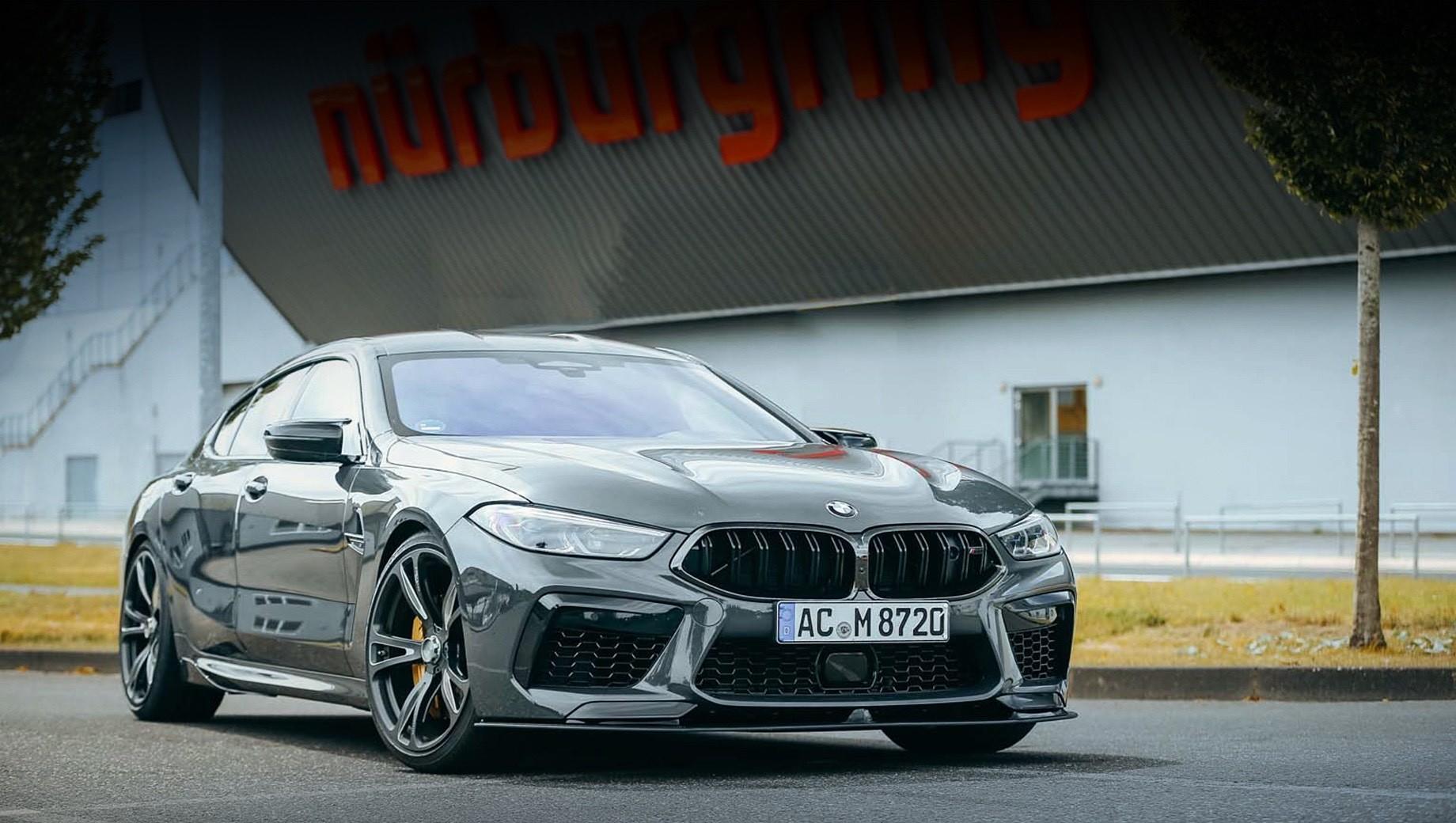 Ателье AC Schnitzer умеренно поработало над BMW M8 GC