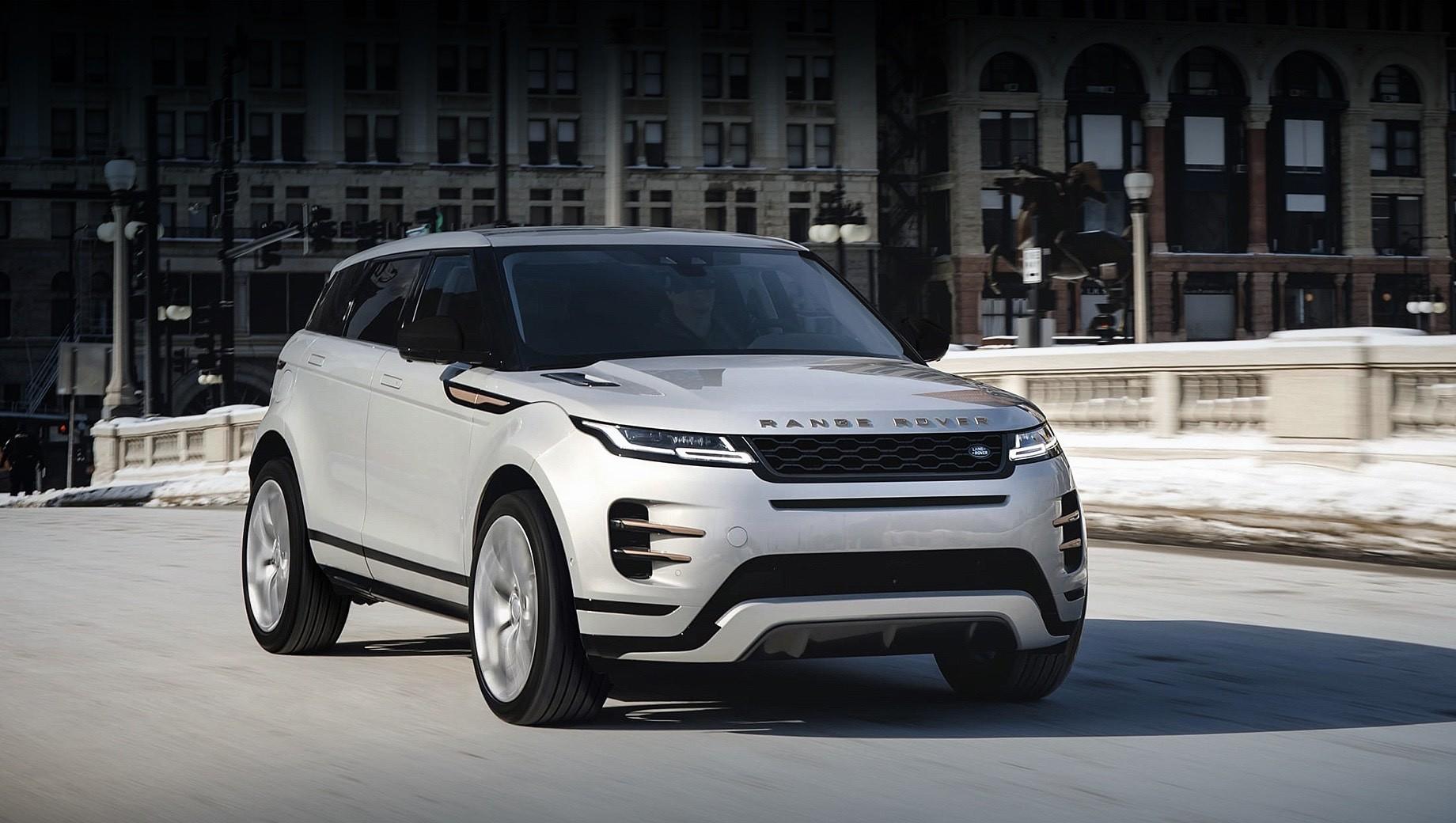 Range Rover Evoque обзавёлся новыми моторами и оснащением