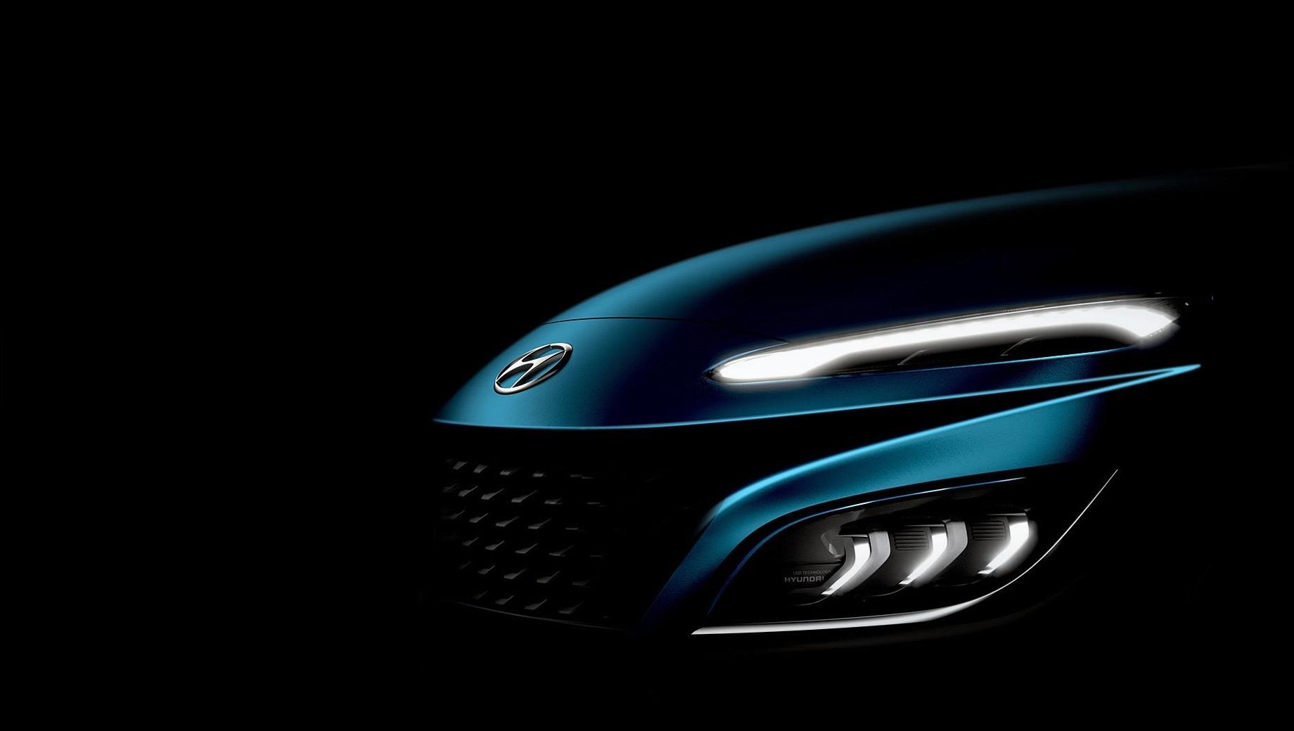 Кроссовер Hyundai Kona заметно преобразится