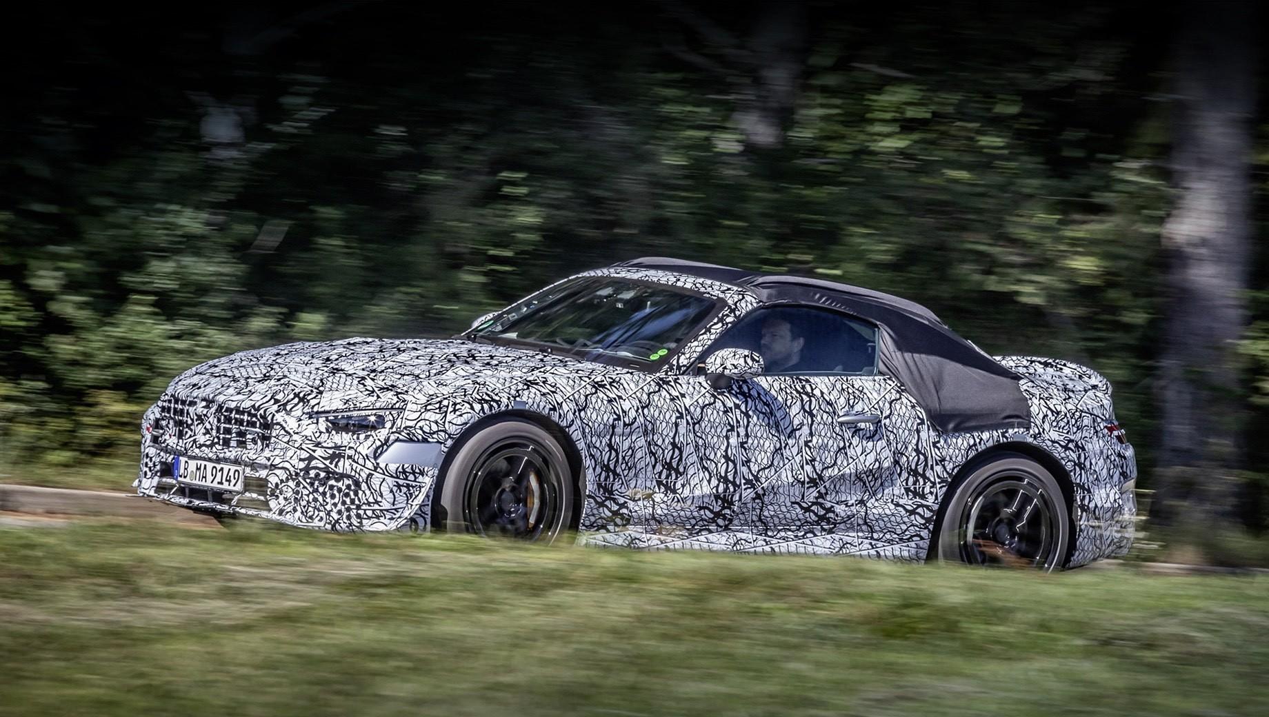 Новый SL перешёл под крыло отделения Mercedes-AMG