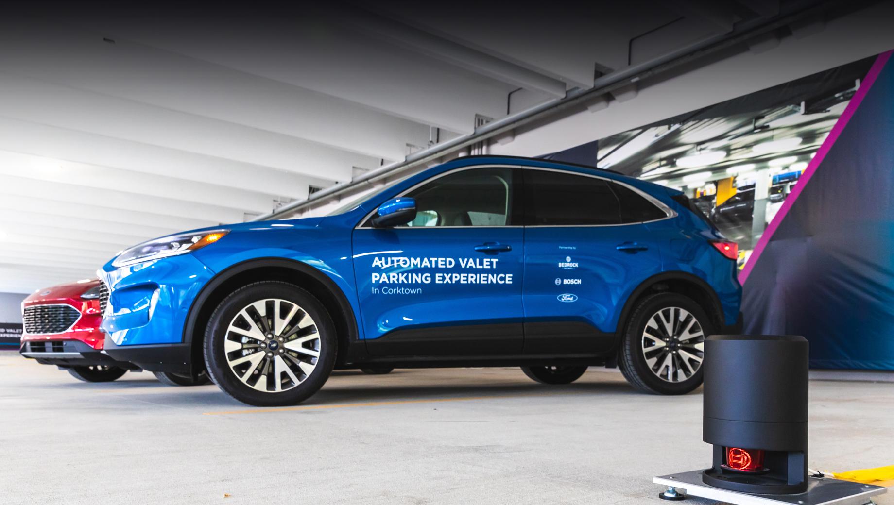 Ford открыл автоматическую парковку в Детройте