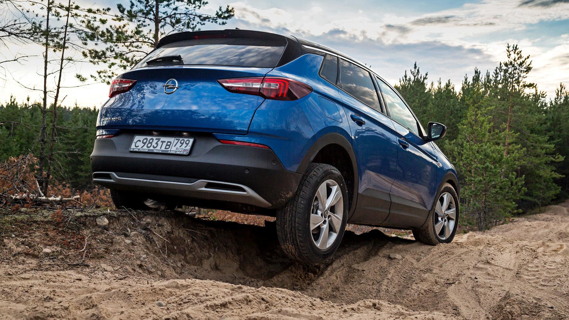 Верим вовсё немецкое скроссовером Opel Grandland X