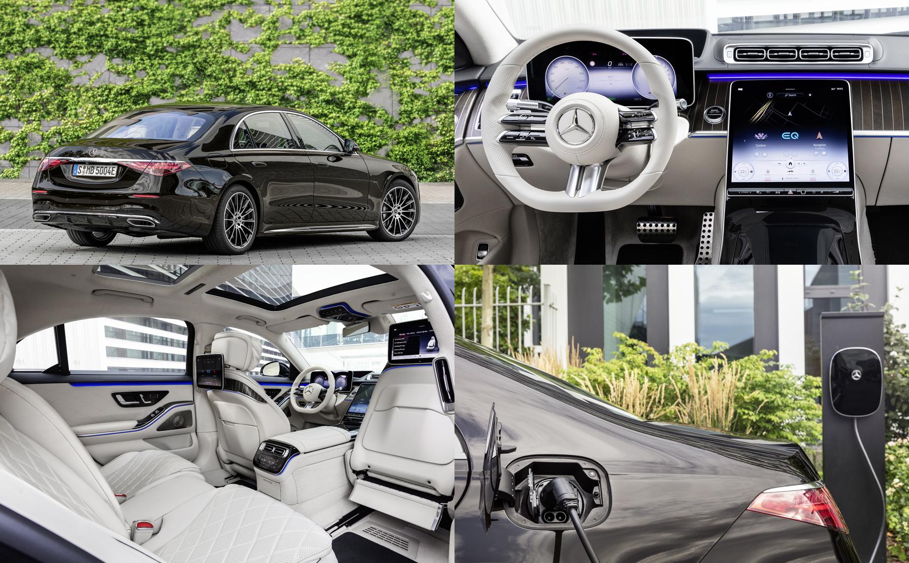 Mercedes-Benz S 580 e удвоил батарею предшественника