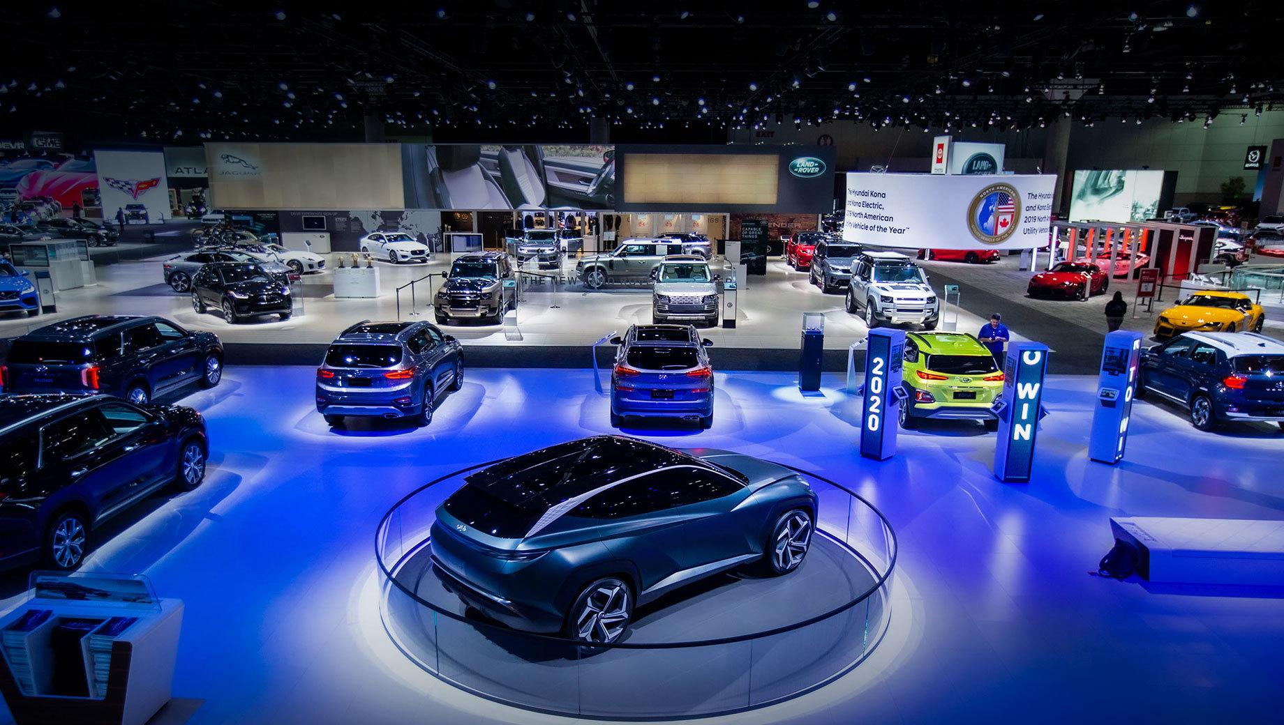 Автошоу в Лос-Анджелесе перенесено на май 2021 года