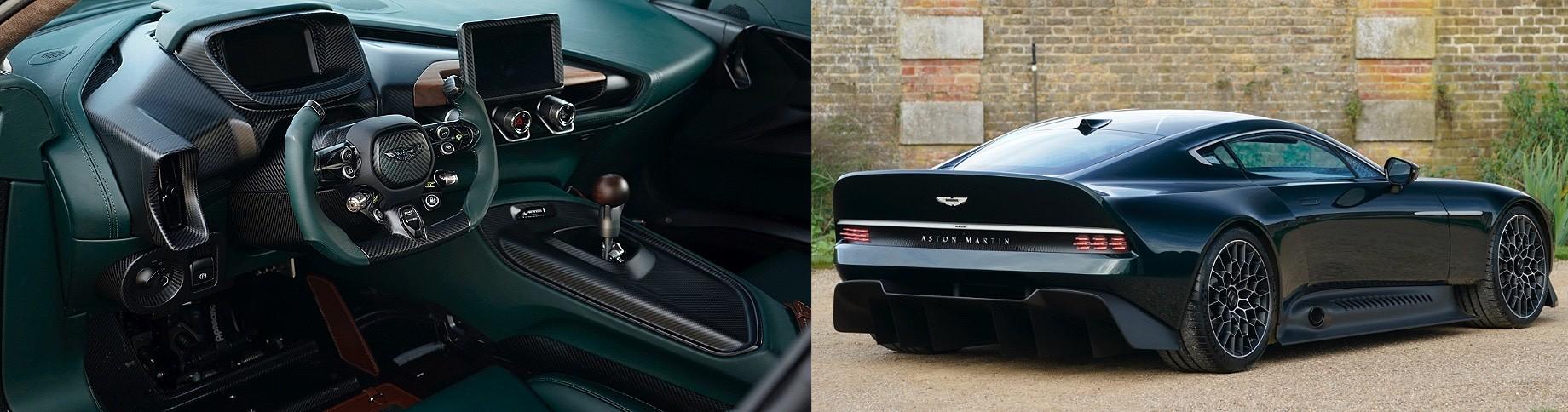 Гиперкар Aston Martin Victor получил необычный силовой агрегат
