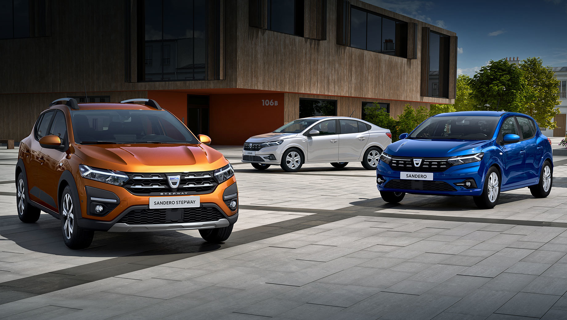 Dacia logan,Dacia sandero,Dacia sandero stepway. Все трое получили неожиданную «Y-образную световую подпись» в фарах и фонарях. Зауженные «глаза» напоминают Renault City K-ZE и перекликаются с вольвовским «Молотом Тора».
