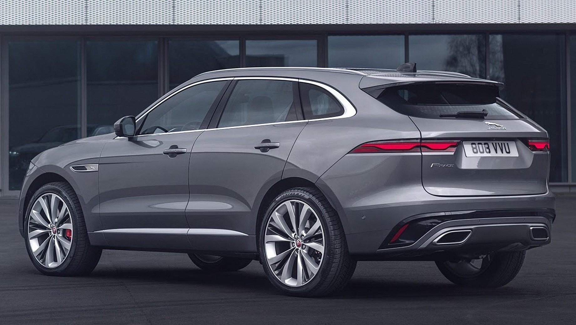 Обновлённый Jaguar F-Pace полностью сменил салон