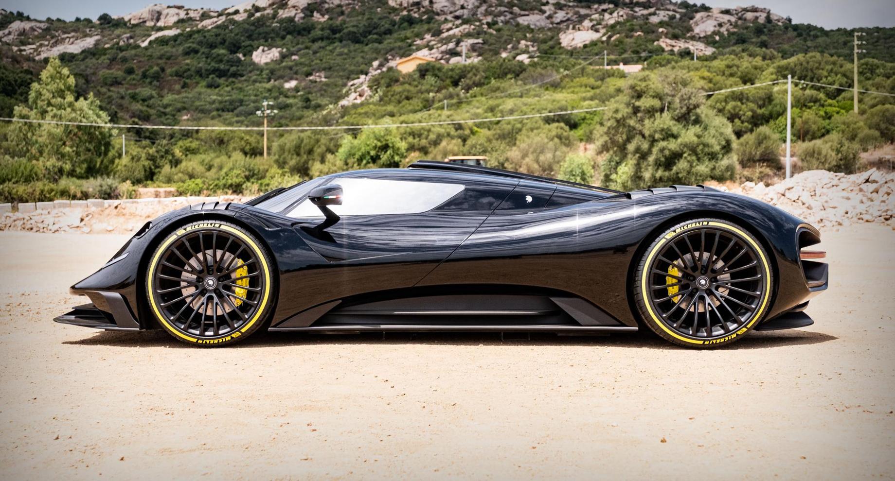 Суперкар Ares S Project облёк Corvette вяркую оболочку