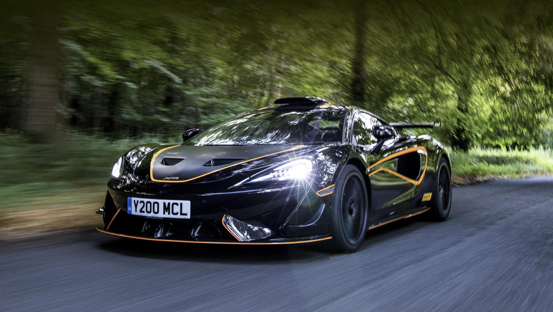 Купе McLaren 620R R Pack порадует водителя громким рыком