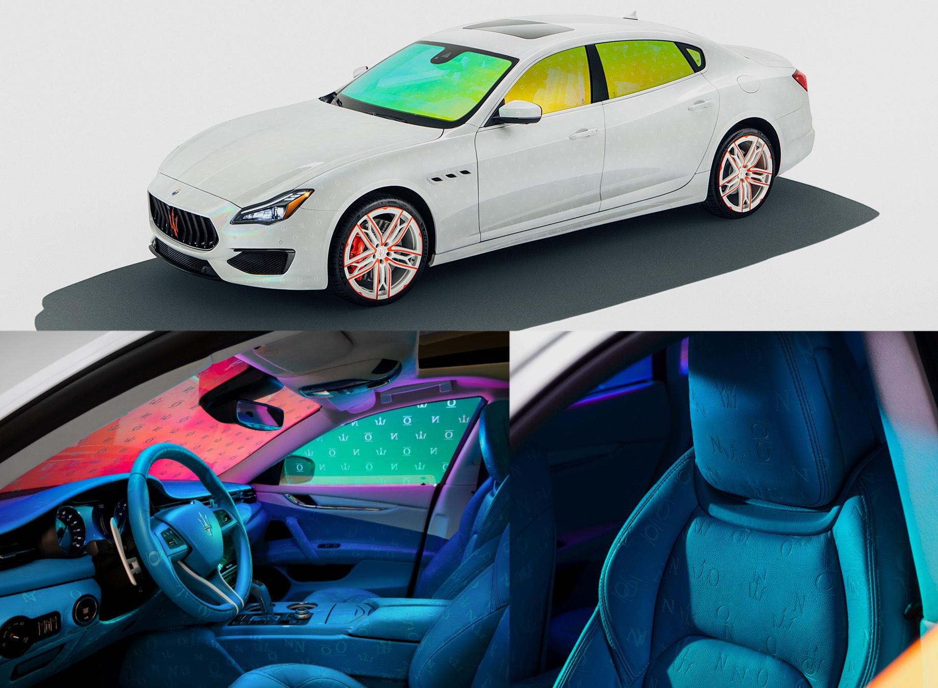 Фирма Maserati представила программу индпошива Fuoriserie