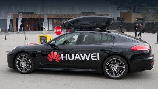 Huawei создала фирму для развития автомобильной электроники