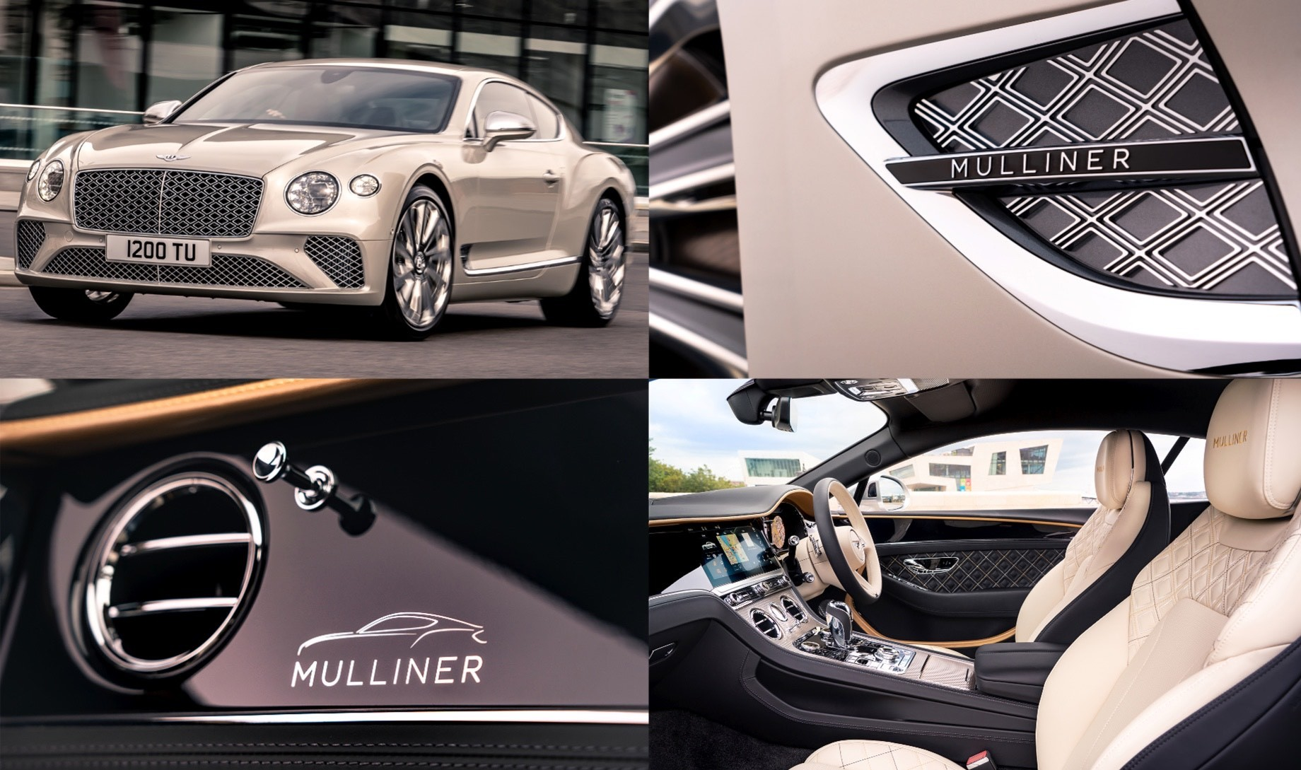 Дополнено: Купе Continental GT Mulliner примкнуло ккабриолету