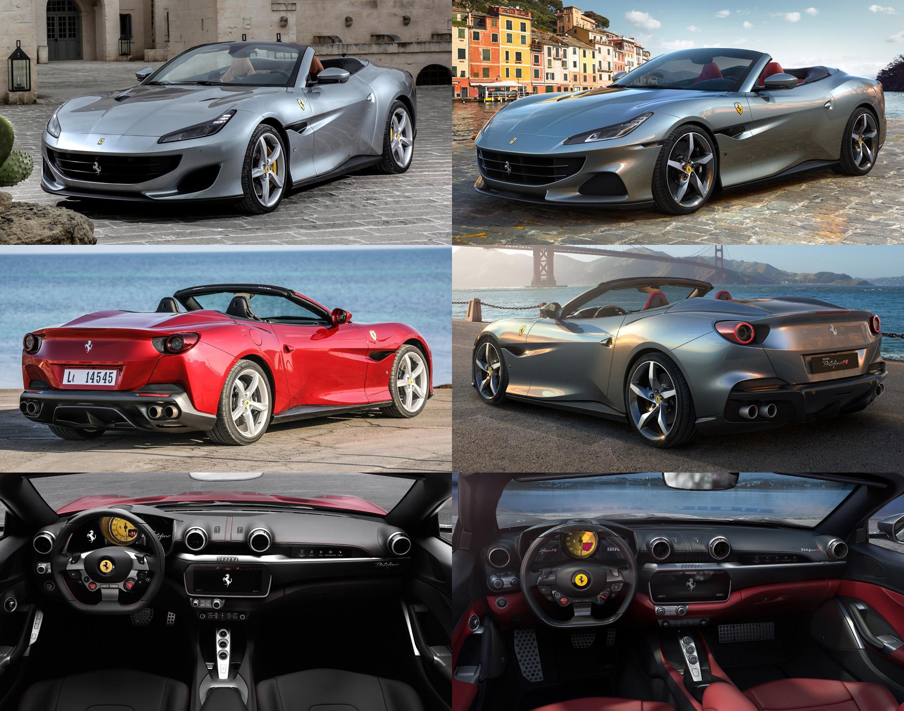 Ferrari Portofino M похвастал новой силовой установкой