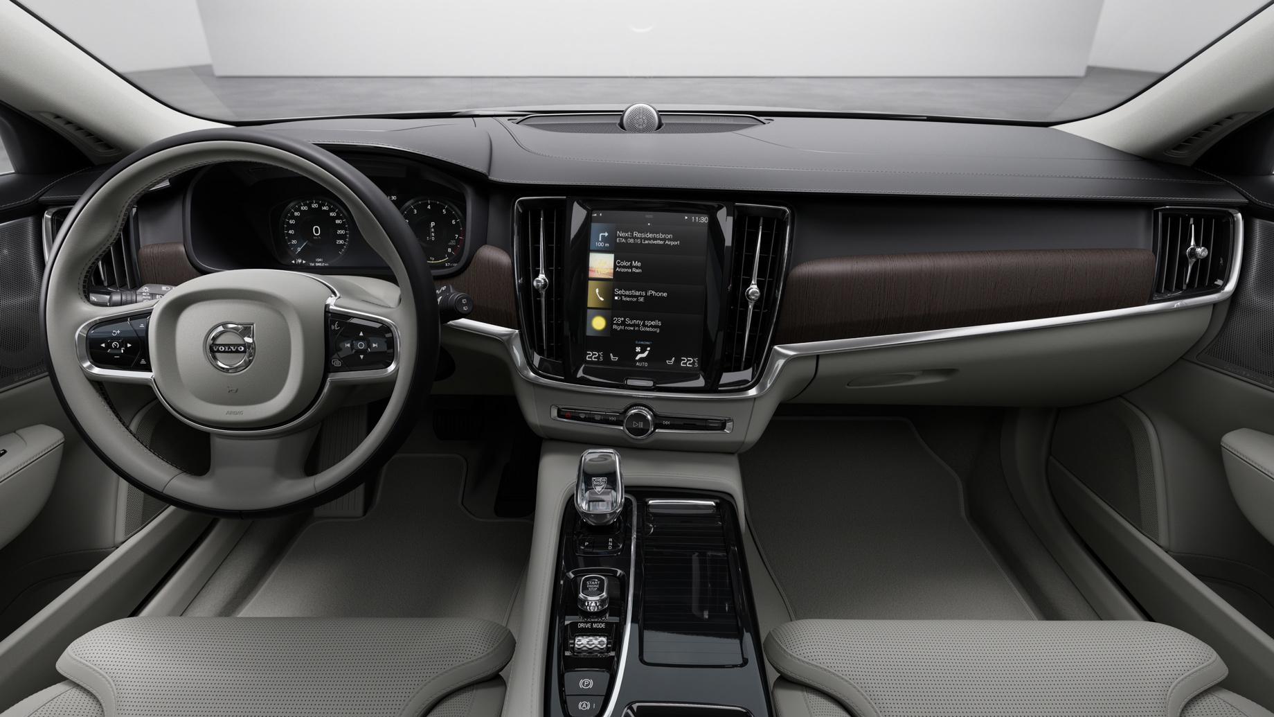 Обновление неповлияло нацены Volvo S90 иV90 вРоссии