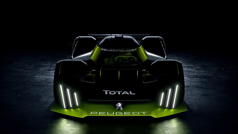 Peugeot lmh. Дизайн болида Peugeot LMH (итоговое название не раскрыто, наверняка будет индекс с нулём в середине) выполнен под девизом Neo Performance. Это намёк на переход бренда к гибридным и электрическим силовым установкам. Новый класс гоночных прототипов хорошо подходит для продвижения «зелёного» имиджа.