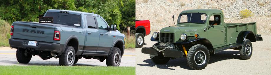 Ram 2500 Power Wagon 75th Anniversary напомнит опрародителе