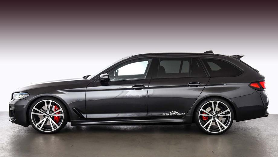 Пятая серия BMW получила импульс в бюро AC Schnitzer