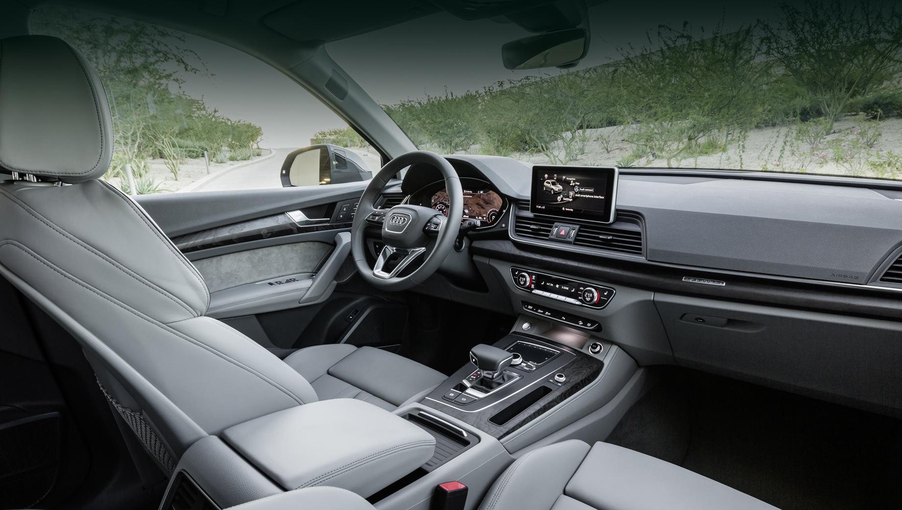 Audi Q5 отозван из-за дефекта спинки переднего сиденья