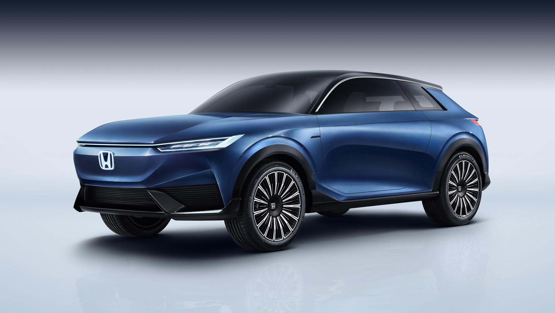 Honda suv e,Honda cr-v,Honda ve-1. Не раскрывая детальных параметров, компания рассуждает о футуристическом и технологичном языке дизайна «One Touch of the Future» («Одно касание будущего»). За экстерьер и салон шоу-кара отвечало китайское отделение Хонды, причём проект был отдан молодёжи.