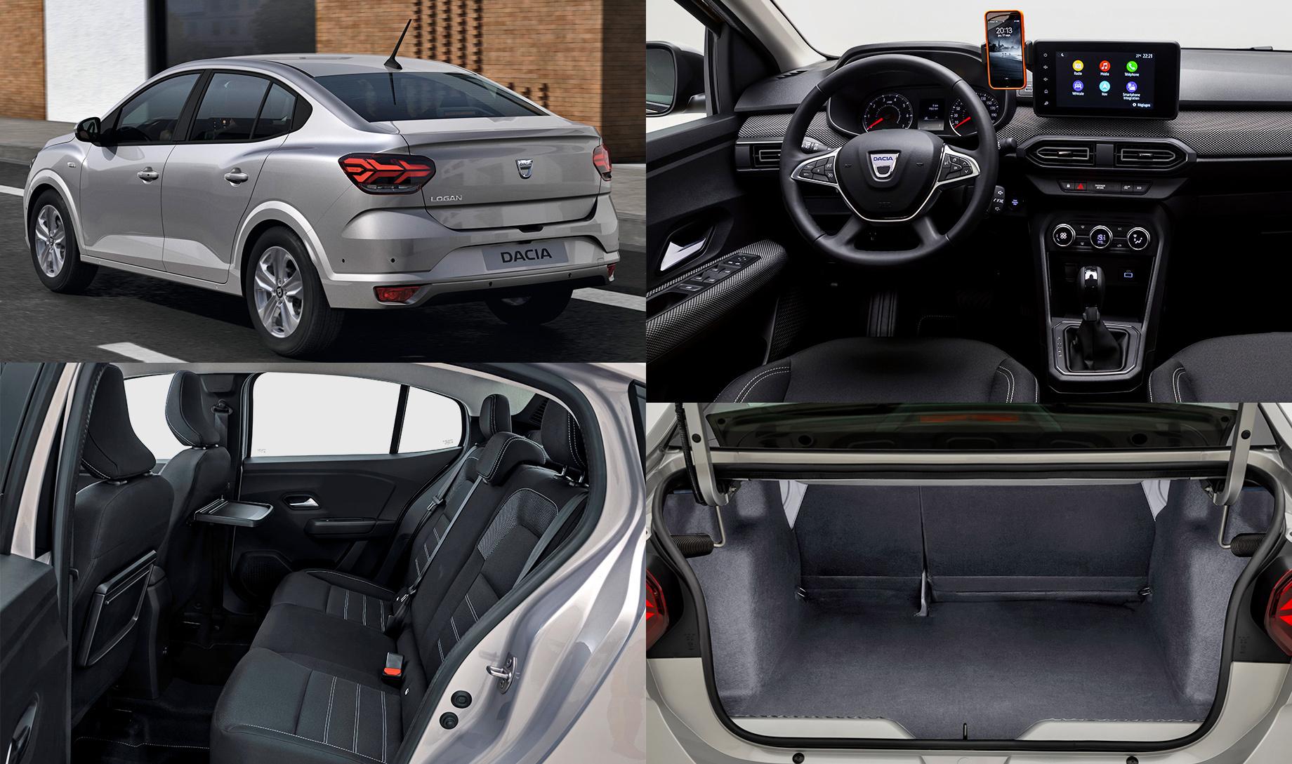«Третьи» Dacia Logan иSandero предъявили спецификации