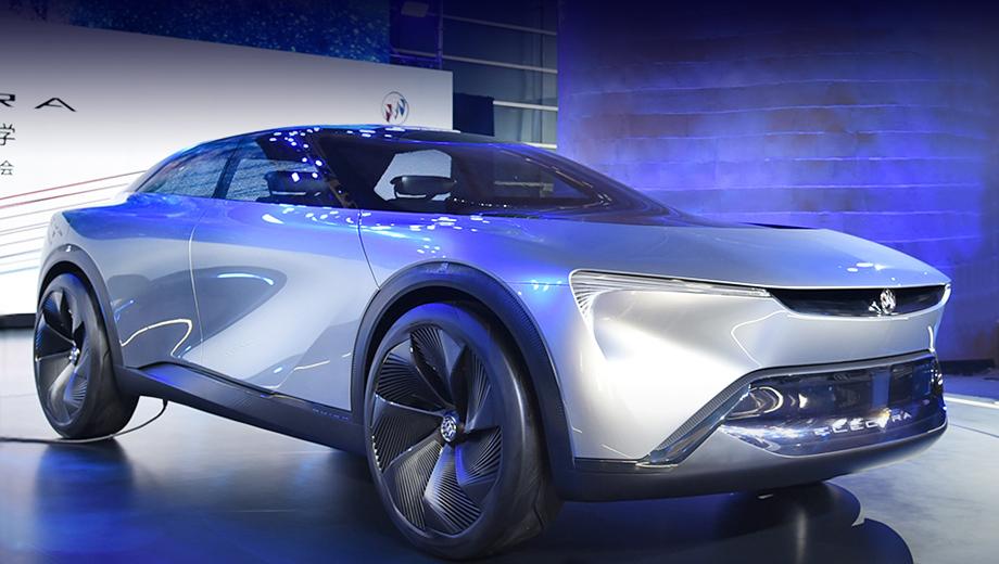 Buick electra,Buick concept. Компания характеризует концепт как «четырёхместный кроссовер с эстетикой Gran Turismo, вдохновлённый космической капсулой».
