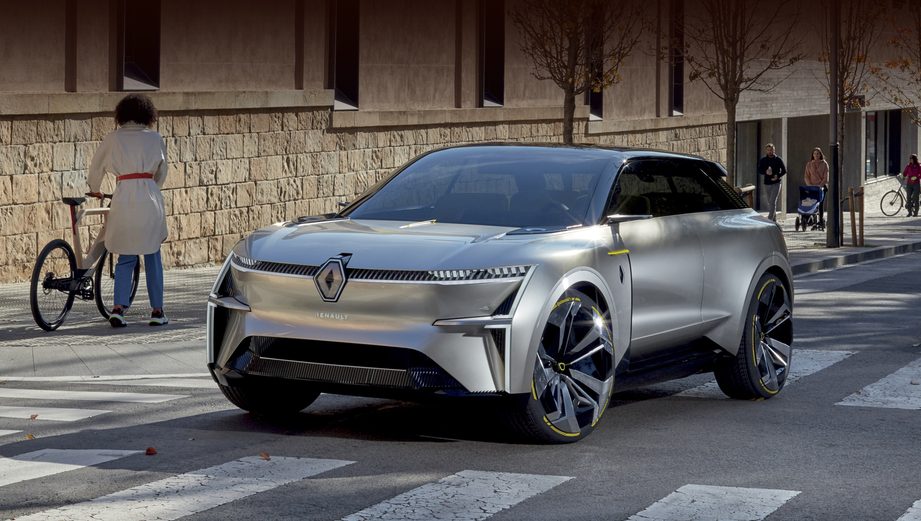 Электрический кроссовер Renault дебютирует на онлайн-шоу eWays
